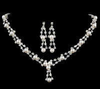 cheap price jewelry - Bridal Accessories Tiaras Hair Necklace Earrings Accessories Wedding Jewelry Sets cheap price fashion style bride hair dress