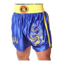 Cheap Men Boxing Trunks Best Polyester Geometric boxing boardshorts