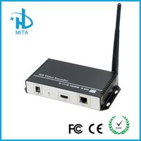 Wholesale DHL HDMI Encoder IPTV H H Hardware Encoder Wifi For Live Streaming