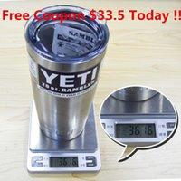 stainless steel dishwasher - YETI stainless steel vacuum insulation cups beer mug wholeprice vacuum vehicle dishwasher safe DHL with coupon