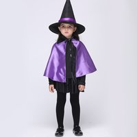 baby wizard costume - halloween costume for kids cosplay witch wizard anime cosplay Anime dance performance clothing Set Baby Wear animal Carnival Party sorcerer