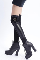 Wholesale autumn and winter legwarmers pu leather black leg warmer bodysuit for leg shaper boot socks High Quality CC01