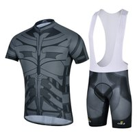 bicycle movies - 2016 Movie hero Cycling Jersey Bib Set Short Sleeves With Padded Cycling Jerseys Size XS XL Bike Wear Quick Dry Compressed Bicycle Clothing