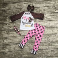 baby football outfits - girls football outfit clothing baby girls I Bring it my brother brings it clothing girls football pant sets with accessoreis