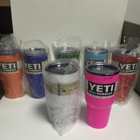 beer pricing - Top Yeti Cup Yeti Customized Price oz Insulated Tumbler Vehicle Beer Stainless Steel Mug Yeti Cooler with Lids Logo
