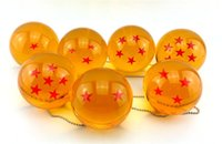 Wholesale HOT Dragon Balls DragonBall Stars Z Crystal Balls Set of CM Gifts Toys With Retail Box Animation Cartoon Free DHL Factory Price