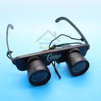 Wholesale Black New Portable x28 Magnifier Glasses Style Fishing Optics Binoculars Telescope with Strap order lt no track