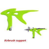 airbrush paints for plastic - New style Painting airbrush supporting tool accessories Airbrush Spray for increasing the comfort when using the airbrush