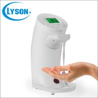 bath liquid - Automatic Touchless Plastic Liquid Soap Dispenser with LCD Display for Kitchen and Bath
