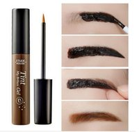 Wholesale New Arrival Eyebrow Enhancers Etude House Tint My Brow Gel Dark Brow Light Brown Gray Peel Off Tint brow