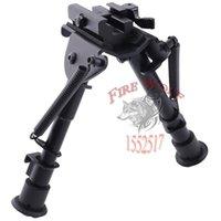airgun accessories - 6 inch QD adjust swivel Harris Pod lock for Harris style bipod Adjustable legs for Rifle Scope Airgun Airsoft sight accessories