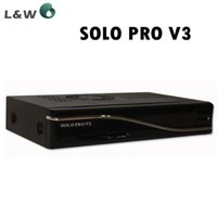 Wholesale 2016 last version vu Solo pro v3 Satellite Receiver Linux System Enigma2 more stable than solo pro v2 support Youtube IPTV