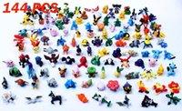 Wholesale 144pcs Poke model Toys Figures PVC action toy figures cm Mini Poke Animal model doll Random delivery