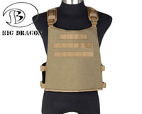 big man hunting clothes - Big Dragon Molle System Tactical Vest Airsoft Paintball Combat Waterproof Vest Durable Vest CS Clothing Professional Gear BD7349