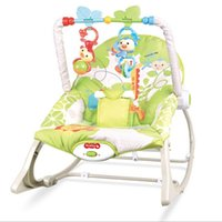 Wholesale Shake music rocking chair Vibration and music baby bouncer electric soft baby rocker Multi function