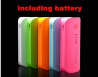 Wholesale 5600mAh Powerbank Power Bank Portable Phone Charger Bateria External power charger for iphone s multi color