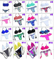 Wholesale woman Latest Push Up Women Swimsuits Bathing Suit Sexy Brazilian Bikini Bottoms Swimwear High Quality