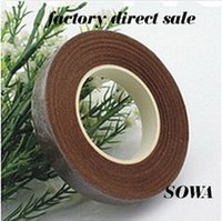 ape tape - ape specifications Coffee Size12mm Length Yard Paper Tape For Nylon Stocking Flower And Butterfly Wedding Decoration pc