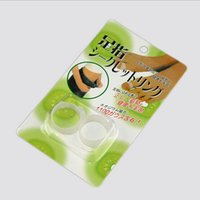 Wholesale Health Care Feet Care Easy Massage Slimming Silicone Foot Massage Magnetic Toe Ring Fat Burning For Keeping Fit