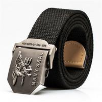 active navy seals - New Arrivals brand designer belts mens designer belts mens belts luxury belts for men NAVY SEAL canvas belt