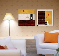 Cheap Modern Abstract Floral Painting On Canvas Hd Giclee Print Reproduction Home Decor Wall Art Set20002