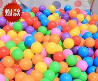 ball tent sale - 2016 Hot sales summer CM wave ball Ball pits Ocean ball PE plastic balls Tent balls Drop shipping EMS transport