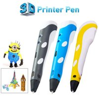 Cheap New Design Wercan High Quality 3D Printing Pen With Free Filament 3D Pen Best Gift For Kids Printer Pens HJIA614