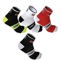 badminton nylon - New Cycling Socks Men Outdoor Mount Sports Wearproof Bike Footwear For Road Bike Socks Calcetines Ciclismo Running Sock