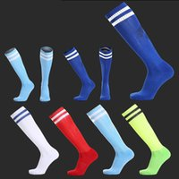 Wholesale Hot top quality football socks soccer socks mens sports durable long adult thickening socks medias colors
