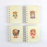 Wholesale Cute Owl Memo Pad Paper Notebook desings mix up k x8 cm pages g stationery