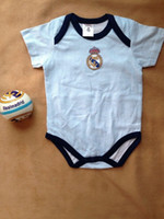 Wholesale 2016 New baby football romper Ronaldo Newborn baby jersey jusmpsuit