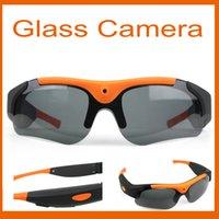 Cheap 2016 New Hot DV Glasses Recorder 1080P 120 Degree wide angle Camera Sunglasses Sports DVR Digital Video Recorder Camcorder Camera Ss