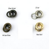 antique brass button - 3 mm mm mm Silver gold rose gold Antique Brass Black Nickel metal copper eyelets buttons clothes accessory handbag findings