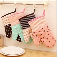 Wholesale Kitchen Heat Flame Resistant Oven Gloves Mitts Cooking Bakeware Grill Accessories Baking Supplies Gear resistant Glove