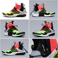 arriva table - New Arriva Drop Shipping Cheap Famous Acronym Air Presto MID White Black Hot Lava Men Running Shoes Sneaker Trainers size