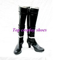 ayane cosplay - Freeshipping Dead Or Alive Ayane PU Leather Cosplay Boots custom made for Halloween Christmas festival