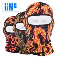 Wholesale New Popular Lin soft equipment motorcycle equipment CS outdoor riding windproof sun mask mask caps caps