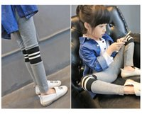 Wholesale 2016 spring and autumn children s trousers Children s trousers Girls children s wear Girls leggings Tights Pants Baby Kids Clothing
