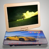 Wholesale SAST F inch mobile portable DVD VCD EVD player LCD touch screen TV receiver Home Outdoor Stage party D effects