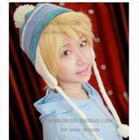 Wholesale Japanese Anime Noragami Yato Yukine Cosplay Costume Jacquard Wool Cap Hat