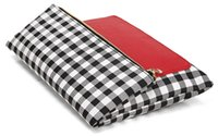 Wholesale zhl08 IPad Holder Clutch BUY ONE GET ON FREE Popular Day Clutches for Ipad Protection Fold Over Style Gingham