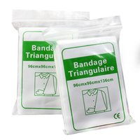 Wholesale First aid medical triangular bandage non woven
