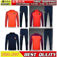 Wholesale New BARCE training uniforms sportswear Thailand top quality BARCE jerseys Purchase piece free EMS Shipping