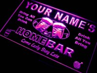 Wholesale p tm colors Name Personalized Custom Home Bar Beer Neon Sign Sent in hrs Dropshipping