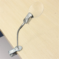 best clip lamp - The Best Price x MM x MM LED Lamp Magnifier Clip on Desk Table Magnifying Glass Loup Watch Repair Tool