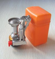 Wholesale Authentic Mini outdoor camping stove with electronic ignition burner mini gas burner