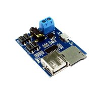 audio dvd format - TF card U disk MP3 Format decoder board module amplifier decoding audio Player