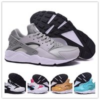 Wholesale 2016 new Air Huarache Triple Mens Black Red White Breathable Men Women Running Shoes Top Quality Air Huaraches Triple Shoes hot sale