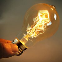 Wholesale Industrial retro Edison tungsten lamp bulb A19 wire hanging W spot