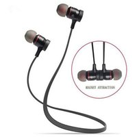 Wholesale Bluetooth Wireless Sport Running Earphone Stereo In ear Magnet Earbud With Microphone Earphone For iphone Sumsang XHH